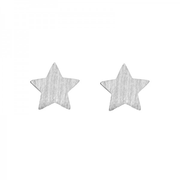 New Star Earrings versilbert MAKE A WISH by TIMI OF SWEDEN