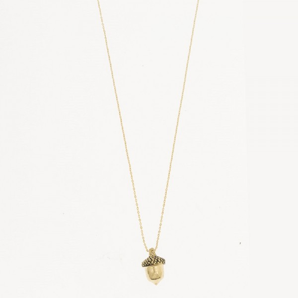 MINT New Acorn Necklace