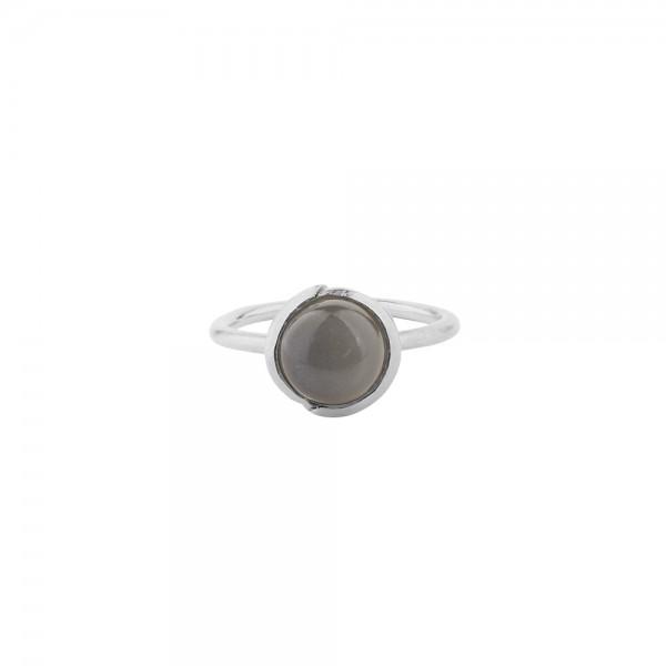 PERNILLE CORYDON Aura Grey Moonstone Ring