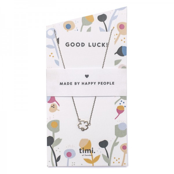 Clover Necklace by TIMI OF SWEDEN