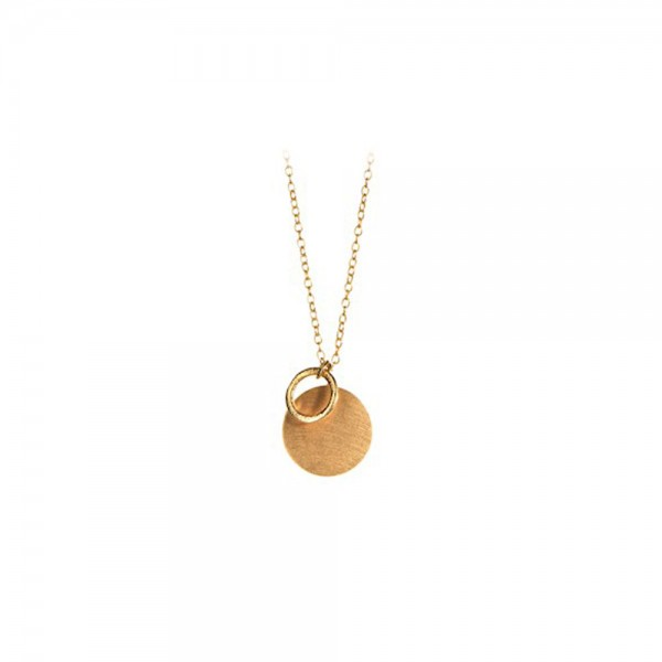 PERNILLE CORYDON Coin & Circle Necklace