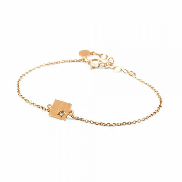 SPECIAL PERNILLE CORYDON Diamond Square Bracelet