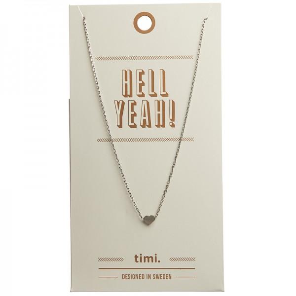 MINT Heart Necklace