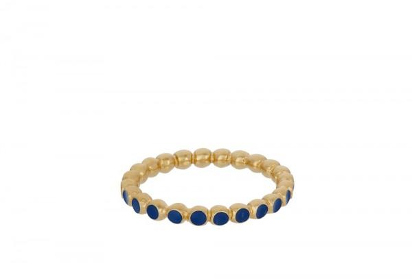 PERNILLE CORYDON Pixel Blue Ring