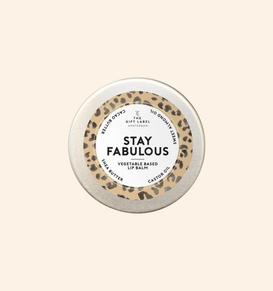 THE GIFT LABEL Lip Balm - STAY FABULOUS