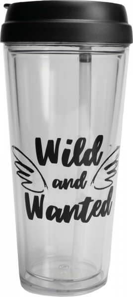 THE GIFT LABEL Take Away Mug - WILD AND WANTED
