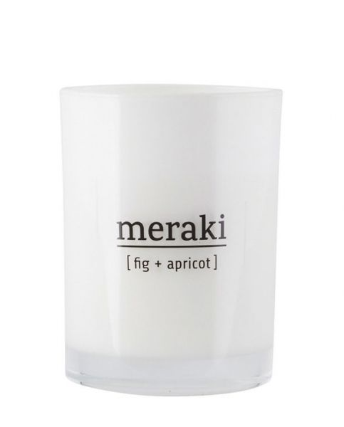 MERAKI Duftkerze - Fig & Apricose