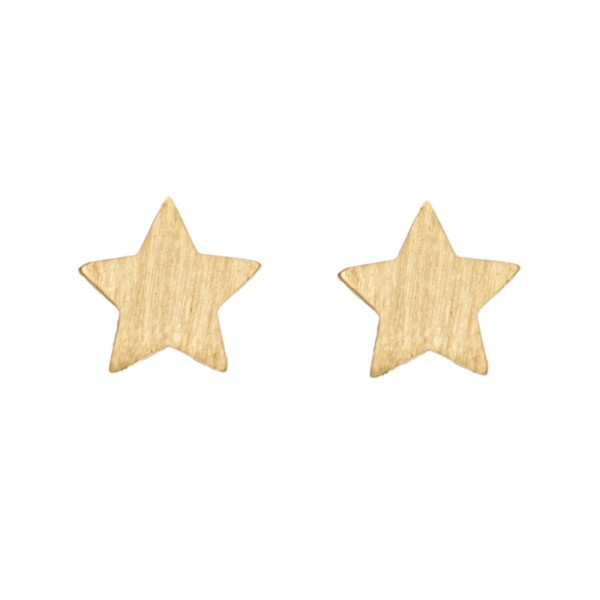 New Star Earrings vergoldet MAKE A WISH by TIMI OF SWEDEN