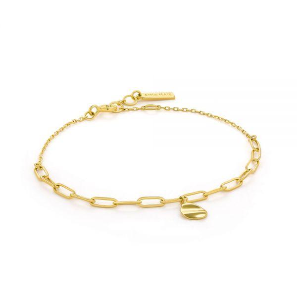 ANIA HAIE Crush drop disc bracelet