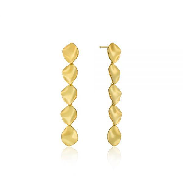 ANIA HAIE Crush multiple discs rop earrings
