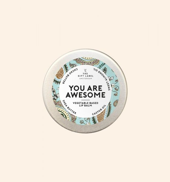 THE GIFT LABEL Lip Balm - YOU ARE AWESOME