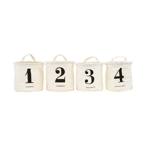 4 kleine Aufbewahrungen 1 2 3 4 von HOUSE DOCTOR