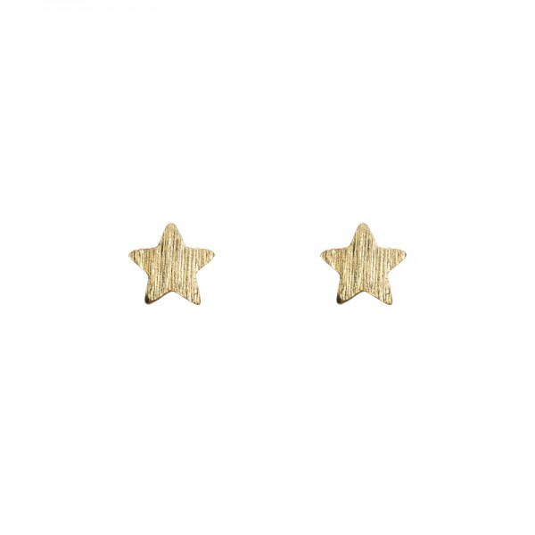 Small Star Earrings vergoldet MAKE A WISH by TIMI OF SWEDEN