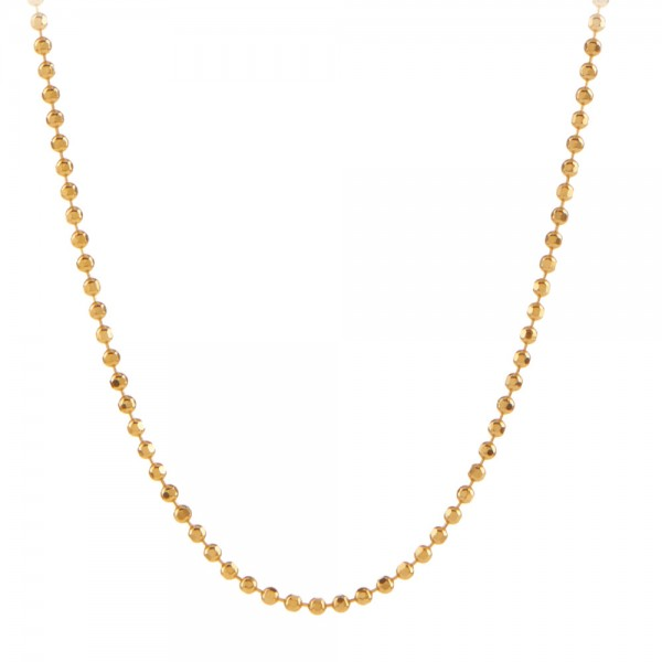 PERNILLE CORYDON Facet Plain Necklace