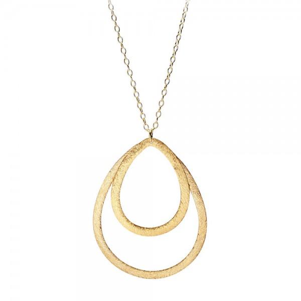 PERNILLE CORYDON Double Drop Necklace