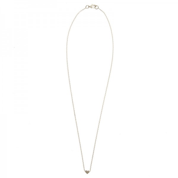 Small Sliding Heart Necklace by TIMI OF SWEDEN