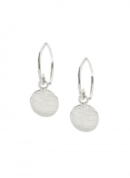 Muja Juma Earring Silber 1 Coin