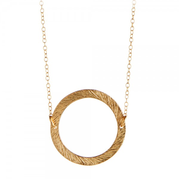 PERNILLE CORYDON Small Open Coin Necklace
