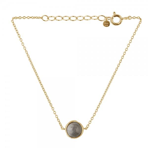 PERNILLE CORYDON Aura Grey Moonstone Bracelet