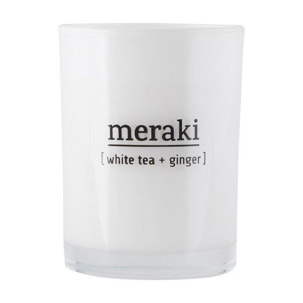 MERAKI Duftkerze - White Tea & Ginger