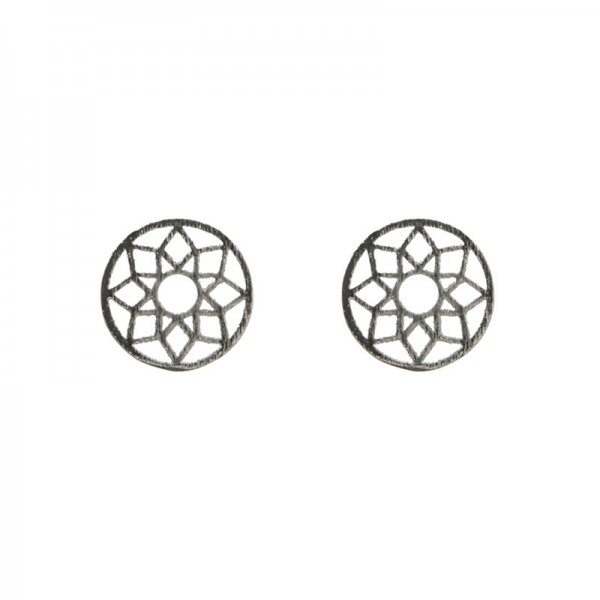 Small Circle Earrings vergoldet MAKE A WISH by TIMI OF SWEDEN