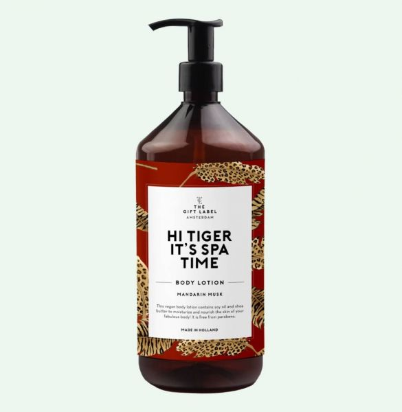 THE GIFT LABEL Body Lotion - HI TIGER IT'S SPA TIME