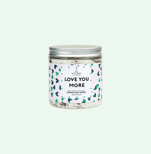 THE GIFT LABEL Body Scrub - LOVE YOU MORE