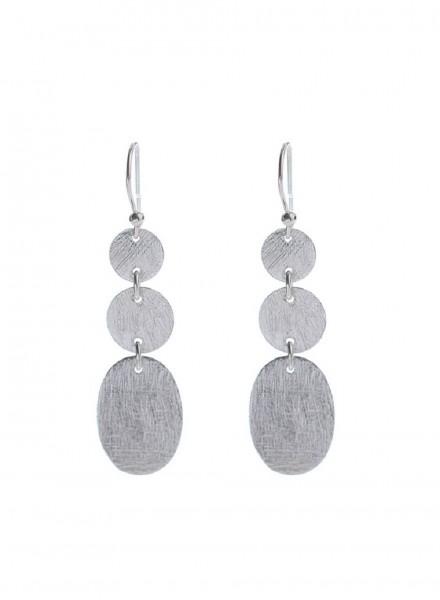 Muja Juma Earring Silber3 Coins