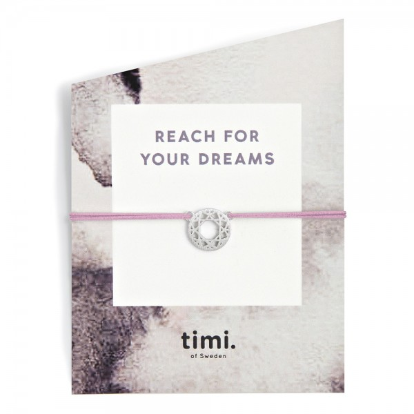 MINT Dreamcatcher MAKE A WISH Bracelet by TIMI OF SWEDEN