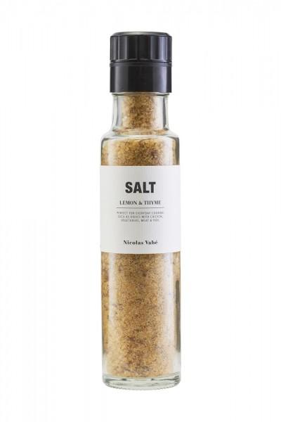 NICOLAS VAHÉ - Salz mit Zitrone und Thymian.