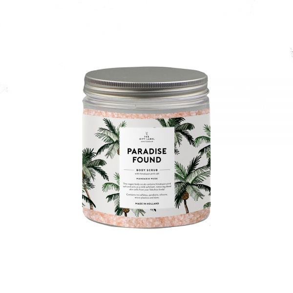 THE GIFT LABEL Body Scrub - PARADISE FOUND