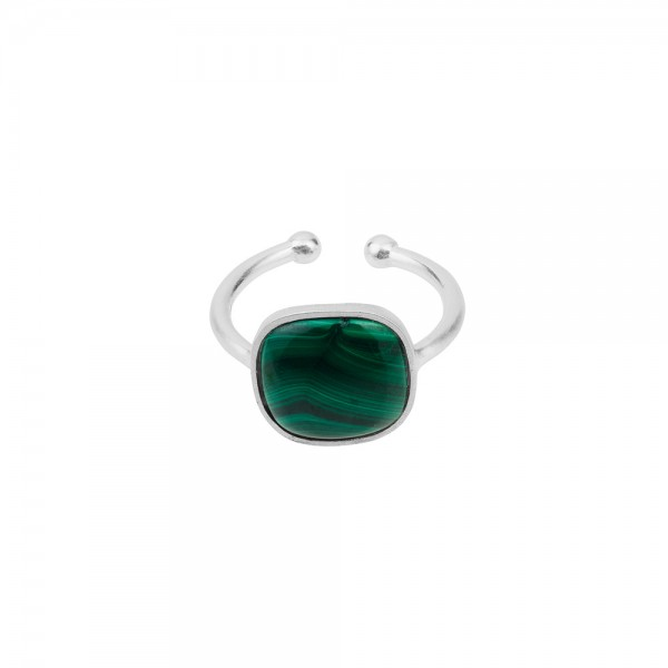 PERNILLE CORYDON Malachite Ring