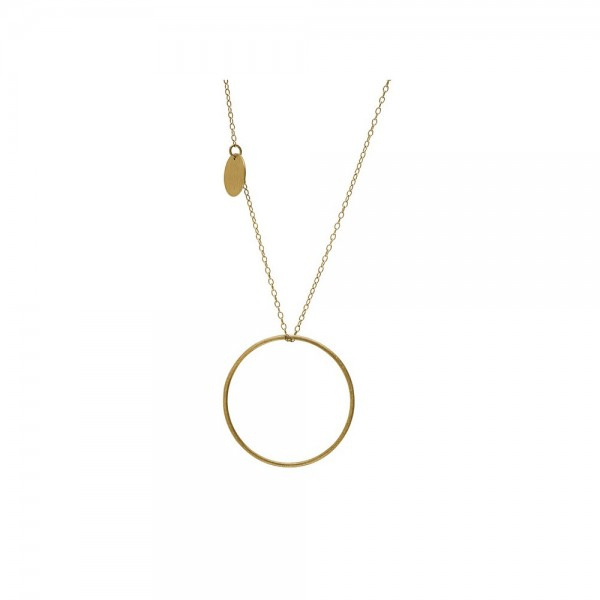 PERNILLE CORYDON Plain Necklace With Coin
