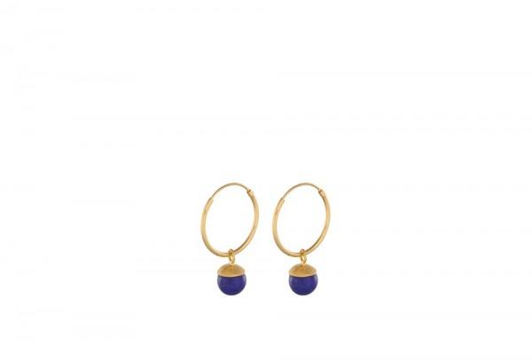 PERNILLE CORYDON Lapis Lazuli Hoops