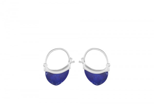 PERNILLE CORYDON Small Lapis Lazuli Earrings