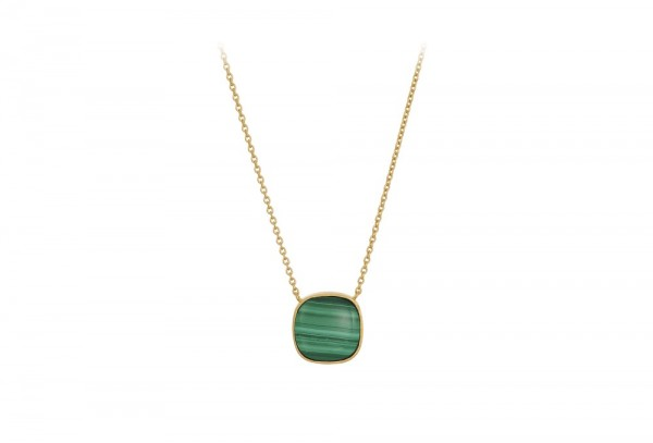PERNILLE CORYDON Malachite Necklace
