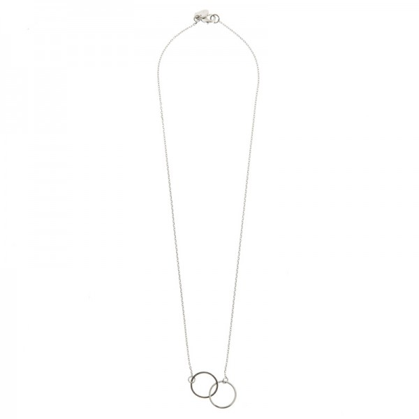 Double Circle Necklace by TIMI OF SWEDEN